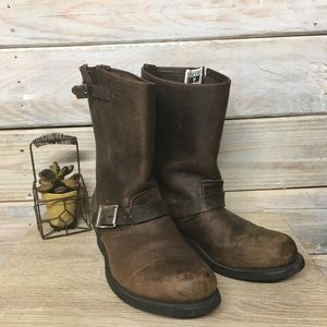 Frye Engineer 12R Boots Size 9.5 M
